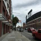 right across AT&T Ballpark
